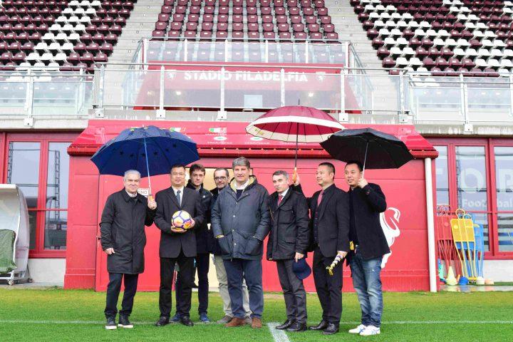 Piemonte-Wenzhou incontro politico sportivo